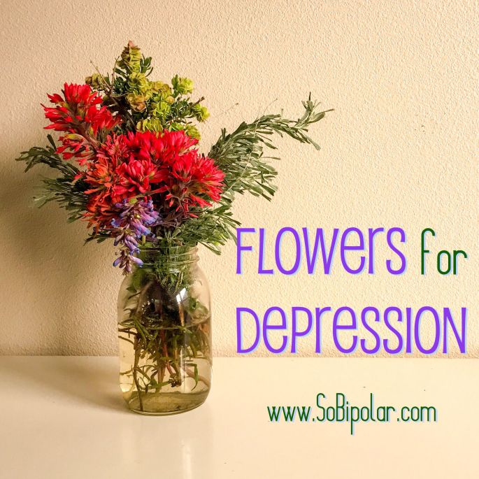 flowers for depression pic